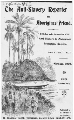 Anti-Slavery Reporter Cover
