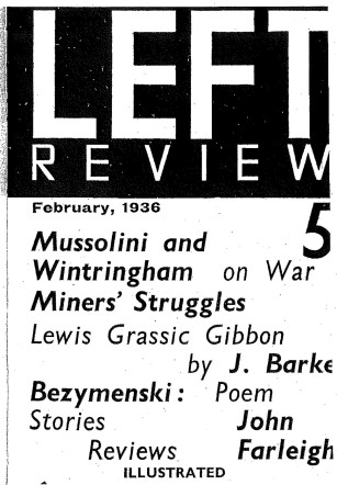 Left Review Cover